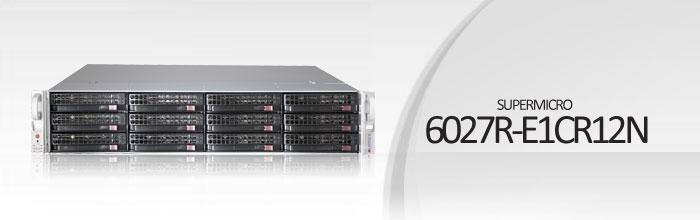 SuperStorage Server 6027R-E1CR12N
