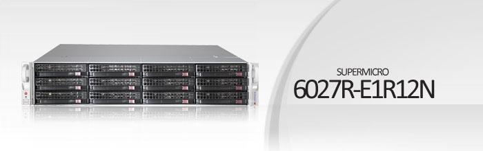 SuperStorage Server 6027R-E1R12N