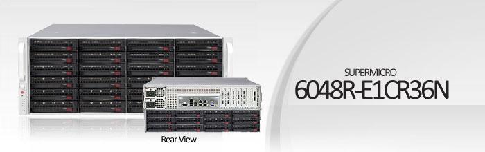 SuperStorage Server 6048R-E1CR36N